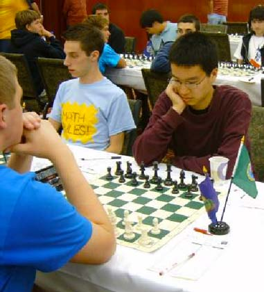 Kerry Xing at the 2009 Denker Tournament